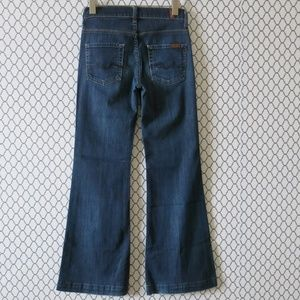 7 For All Mankind Ginger Wide Leg Denim Jeans 26